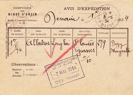 """Péniche """" ALBATROS """" Au Départ De DENAIN (Cie Des Mines D'Anzin) Pour Tuileries Et Briqueteries De DIZY (51) - Houseboats"""