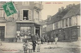 LORMES La Rue Saint Albain - Lormes