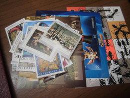 Österreich Jahrgang 2012 Postfrisch Komplett Incl. Blocks Und Selbstklebenden - 2011-... Ungebraucht