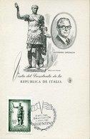 45141 Argentina, Maximum 1961 Emperor Imperator Trajan  Roman Emperor - Famous People