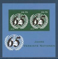 Nations Unies Vienne - YT Bloc N° 20 - Neuf Sans Charnière - 2010 - Blocks & Sheetlets