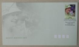 Australia 2010. Queen's Birthday 2010. FDC (Miniature Sheet) - Primo Giorno D'emissione (FDC)