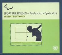 Nations Unies Vienne - YT Bloc N° 22 - Neuf Sans Charnière - 2012 - Blokken & Velletjes
