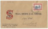 1936 - SWA (EX COLONIE ALLEMANDE) - SUPERBE ENVELOPPE PUBLICITAIRE SINGER MACHINE à COUDRE De KOES - Südwestafrika (1923-1990)