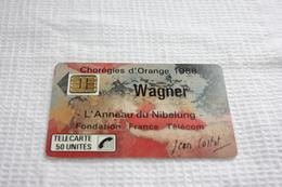 Télécarte France  F23 WAGNER  50U  SC3   TBE - Frankrijk