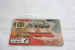 Télécarte France    F24A  WAGNER  120U  SC4ON   LUXE - Frankrijk