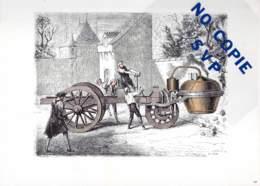 * * IMAGES DES SCIENCES * * N° 20 Le Chariot à Vapeur De Cugnot . . . - Prenten & Gravure