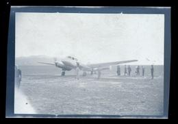 Negatif Photo  Aviation Avion Et Pilote Bi-Moteur - Appareils Photo