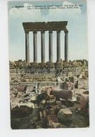 ASIE - LIBAN - LEBANON - BAALBEK - Les 6 Colonnes Du Grand Temple - Vue Prise Du Sud - Lebanon
