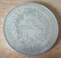France - Monnaie 50 Francs Hercule 1974 En Argent - SUP - Achat Immédiat - Francia