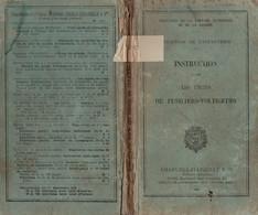 MANUEL MILITAIRE De 1940 INSTRUCTION POUR LES UNITÉS DE FUSILIERS-VOLTIGEURS - 1939-45