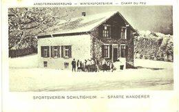 Belmont - Champ Du Feu - Sportsverein Schiltigheim - Sparte Wanderer - Association De Sports D'hiver De Schiltigheim - France
