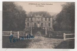 14 CALVADOS - CP ETERVILLE PAR MALTOT - LE CHATEAU - CLICHE VALOT CAEN - Francia