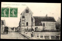 51 - LES GRANDES LOGES (Marne) - L'Eglise - France