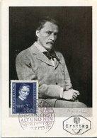 45149 Austria, Maximum 1953, Music Composer  Hugo Wolf, First Day Postmark - Cartas Máxima