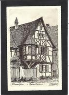 CPA Haut Rhin 68 Non Circulé Illustrateur Klippstiehl Ottmarsheim - Ottmarsheim