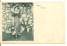 CAPRI 1900 / COSTUME - Napoli