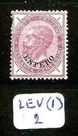 LEV (I) YT 10 En X - 11. Oficina De Extranjeros
