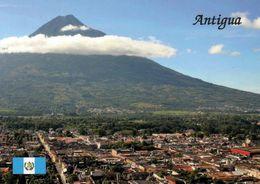 1 AK Guatemala * Die Stadt Antigua Guatemala - Im Hintergrund Der  Volcán De Agua - Seit 1989 UNESCO Weltkulturerbe * - Guatemala