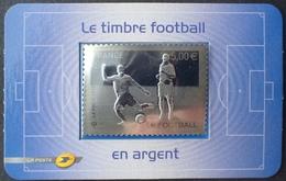 LOT 2041 - 2010 - LE TIMBRE FOOTBALL En ARGENT - N°430 NEUF** (auto-adhésif) - France
