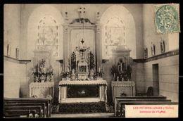 51 - LES PETITES LOGES (Marne) - Intérieur De L'Eglise - France