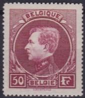 Belgie  .  OBP  .   291  Lie De Vin - Tirage De Paris     .     *    .      Ongebruikt  .   /   .  Neuf Avec Charniere - Belgium