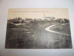 7ain - CPA N°2938 - LES LUCS SUR BOULOGNE - Vue Générale Prise De La Motte Du Petit-luc - [87] - Haute-Vienne - - Les Lucs Sur Boulogne
