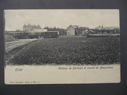 CPA - Tillet - Château De Gérimont Et Couvent De Beauplateau - Train - Sainte-Ode