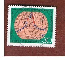 GERMANIA (GERMANY) - SG 1654  - 1973  INT. METEOROLOGICAL ORGANIZATION   -  USED - [7] République Fédérale