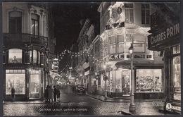 CPA -  Belgique, OSTENDE / OOSTENDE, La Nuit, La Rue De Flandre, Carte Photo, Antony - Oostende
