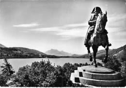 CELEBRITE Personnage Historique ( Corse ) Monument NAPOLEON à LAFFREY (38) - CPSM Dentelée N/B GF 1960 - Corse - Personnages Historiques