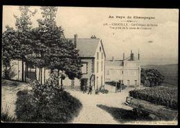 51 - CHOUILLY - Le Château De Saran - Vue Prise De La Route De Cramant - Autres Communes