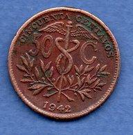 Bolivie - 50 Centavos 1942  - Km # 182a2  -  état TB+ - Bolivie
