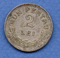 Roumanie - 2 Lei 1924   - Km # 47 -  état TB - Roumanie