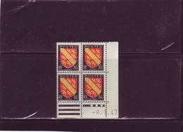 N°756 - 30c Blason D' ALSACE - A De A+B - 3° Tirage/1° Partie Du 3.1.47 Au 23.01.47 - 8.01.1947 - 1940-1949