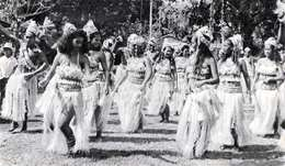 R! (3 Scans) TAHITI - Dans Le Sillage De BOUGAINVILLE, Gel.1954, Schöne 3 Fach Frankierung, Französische Überseekarte - Tahiti