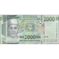 TWN - GUINEA NEW - 2000 2.000 Francs 2018 (2019) Prefix AY UNC - Guinea