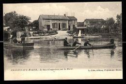 51 - COMPERTRIX - Le Bac à Compertrix, Sur La Marne - Châlons Sur Marne - Otros Municipios