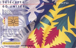 TWK TAHITI (2), Gebraucht - Telefonkarten