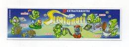 KINDER - 1998 - Cartina Serie STRALUNATI - (FDC15625) - Istruzioni