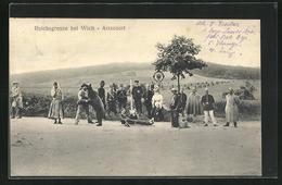 AK Wich-Arracourt, Bärenführer An Der Reichsgrenze - Dogana
