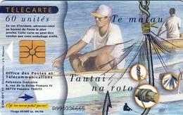 TWK TAHITI, Gebraucht - Telefoonkaarten