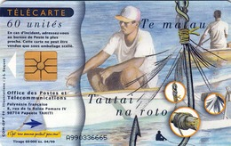 TWK TAHITI, Gebraucht - Telefonkarten