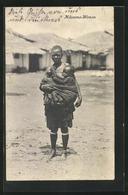 CPA Afrikanische Frau Avec Kind Im Schultertuch, Mdumma-Woman, Afrikanische Volkstypen - Zonder Classificatie