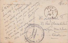 ALGERIE : D'ORAN . EN FM . CP . DU BATAILLON DE PIONNIERS INDOCHINOIS . 1942 . - Briefe U. Dokumente