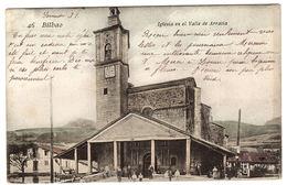 "BILBAO - Iglesia En El Valle De Arratia - Ed. Libreria ""Villar"" - Vizcaya (Bilbao)"