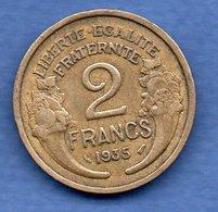 2 Franc 1935  -  état  TB+ - I. 2 Francs
