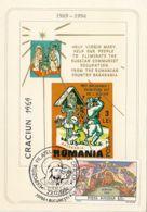 CHRISTMAS, JESUS' BIRTH, FREE BESSARABIA, CM, MAXICARD, CARTES MAXIMUM, 1994, ROMANIA - Christmas
