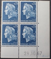 R1949/833 - 1967 - TYPE MARIANNE DE CHEFFER - N°1535 BLOC NEUF** CdF Daté - 1960-1969