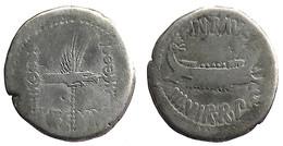 [H] +++ AR Denarius / Denier MARCUS ANTONIUS  -- LEG XX - Legionary Issue +++ - Römische Münzen
